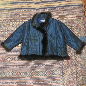 Vintage Iceberg fur jacket size 42